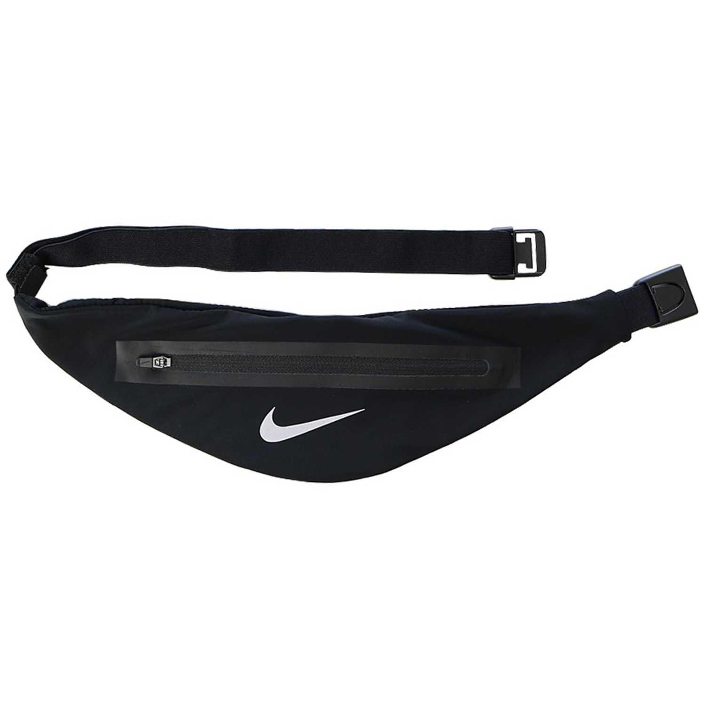 Canguros de Hombre Nike Negro / plomo nk angled waistpack