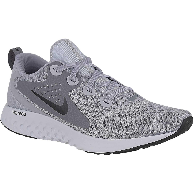Nike wmns nike legend react Plomo / gris Running en pista