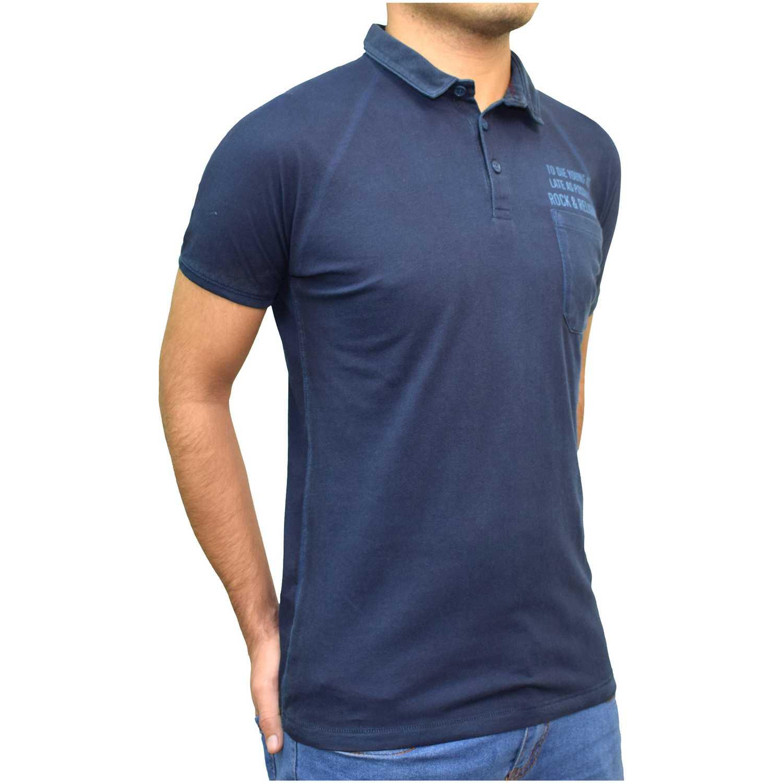 ROCK & RELIGION gauthier Navy Camisetas y Polos Deportivos