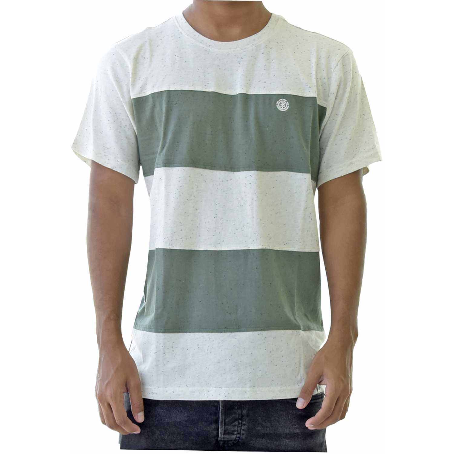 Element braddy Verde / blanco Polos