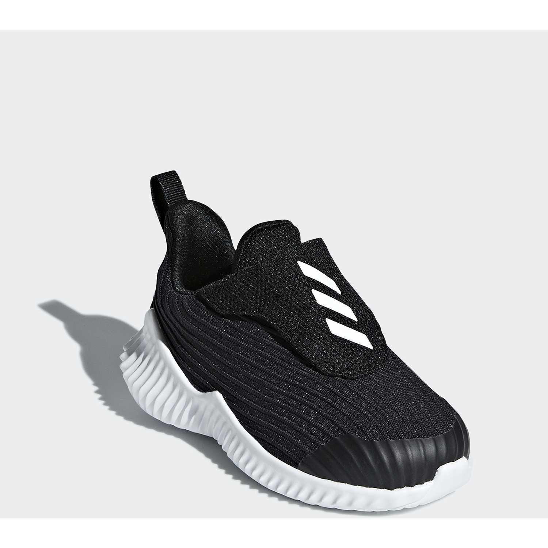 oficial mejor calificado Venta barata buena calidad Adidas fortarun ac i Negro | platanitos.com