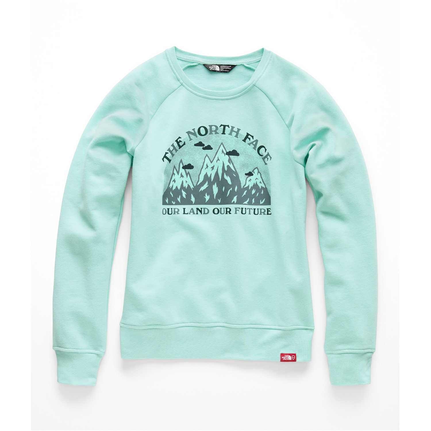 The North Face w bottle source fleece crew Menta Pullovers