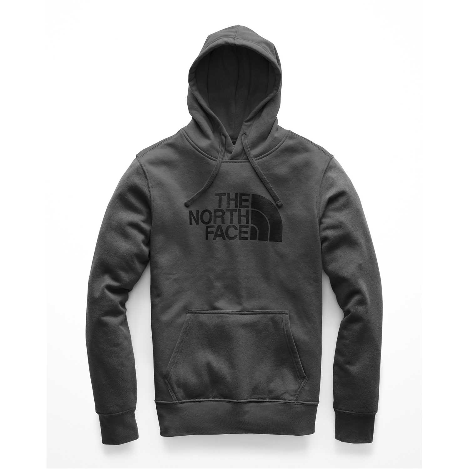 Casual de Hombre The North Face Plomo / negro m half dome pullover hoodie