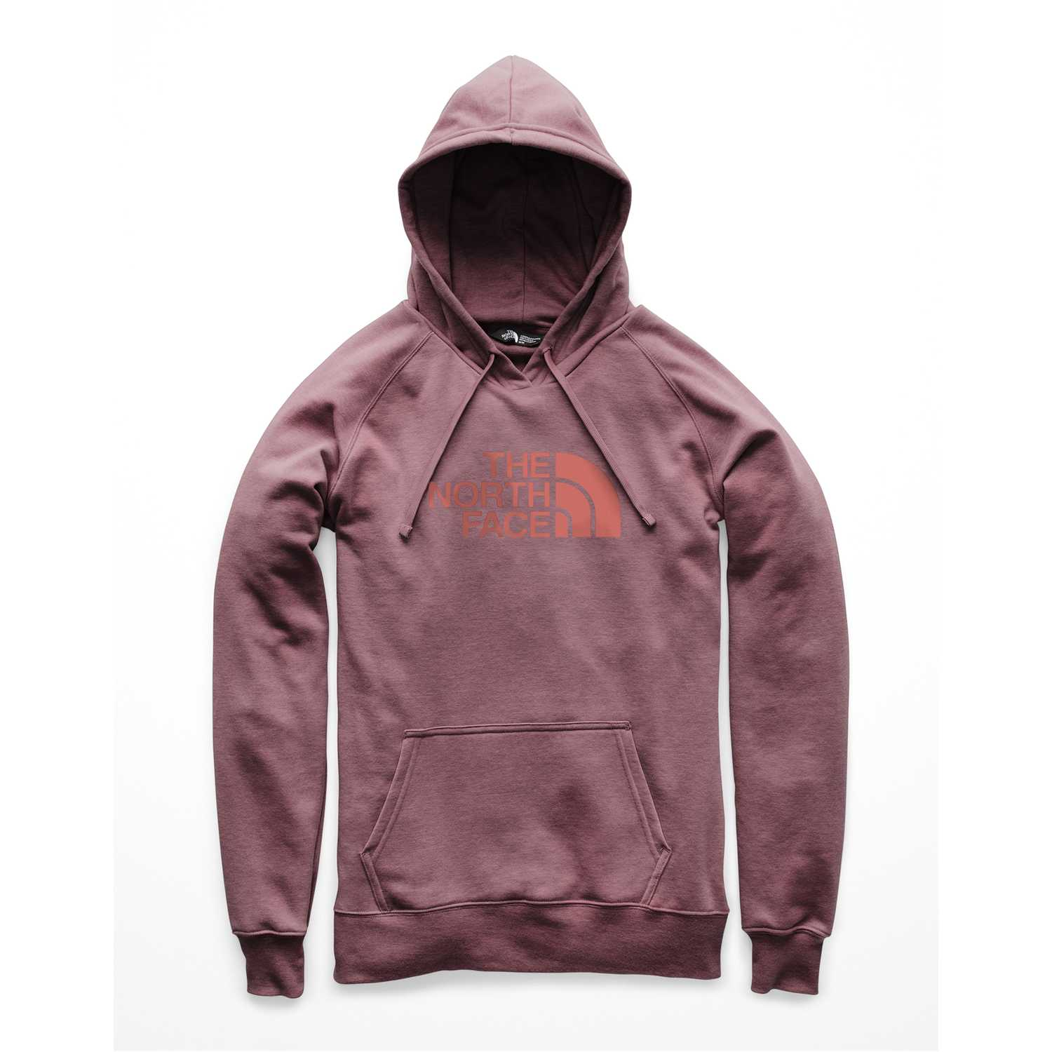 The North Face w half dome pullover hoodie Rosado