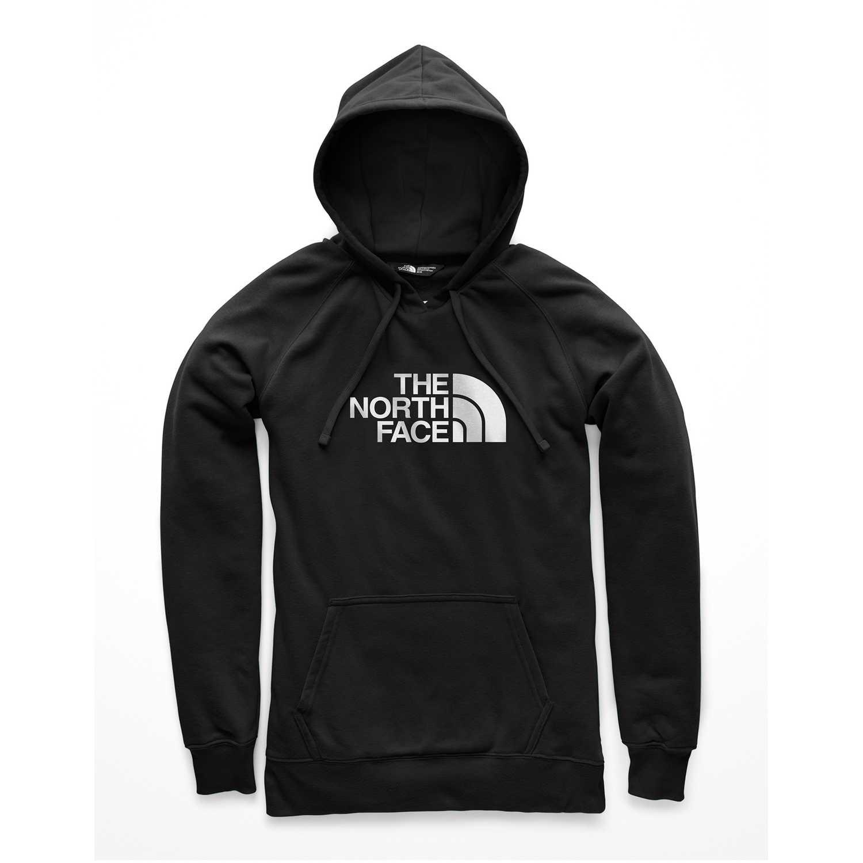 Polera de Mujer The North Face Negro / blanco w half dome pullover hoodie