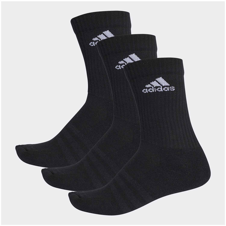 Media de Hombre Adidas Negro 3s per cr hc 3p