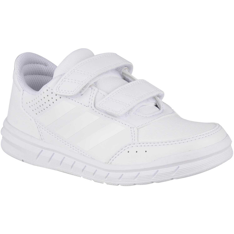 Zapatilla de Jovencito Adidas Blanco altasport cf k