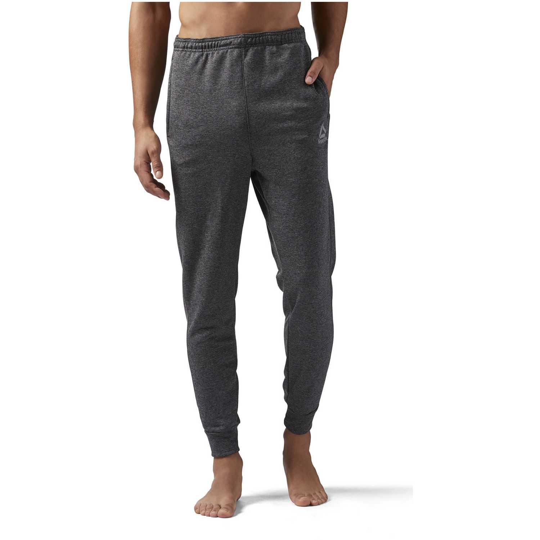 Reebok re jog pant Plomo / gris Pantalones Deportivos