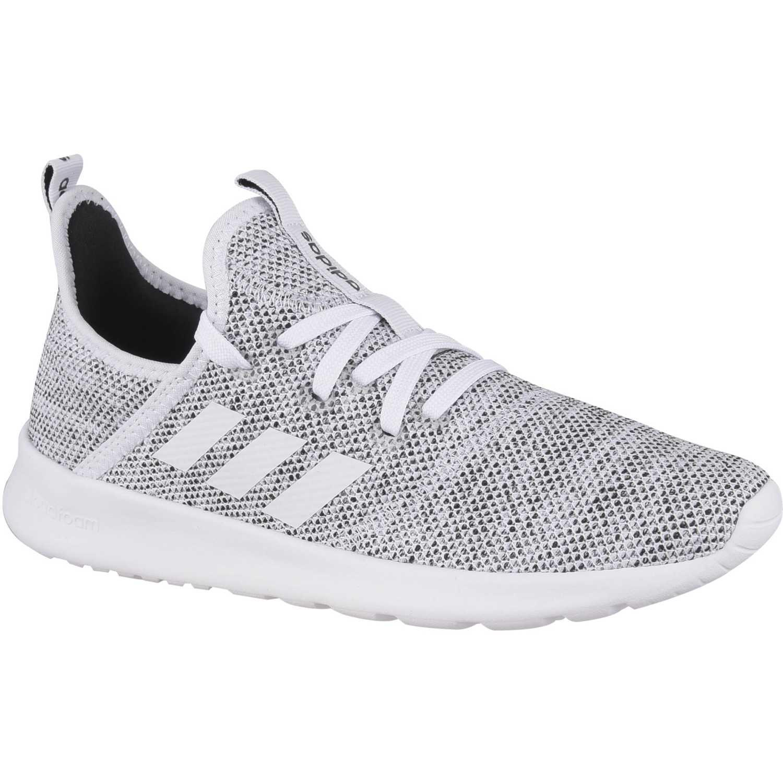Adidas cloudfoam pure Gris Running en pista | platanitos.com