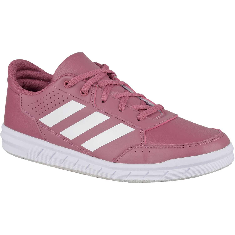 Zapatillas de Jovencita Adidas Rosado altasport k