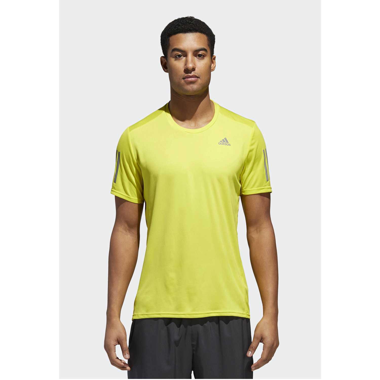 Polo de Hombre Adidas Amarillo response tee m