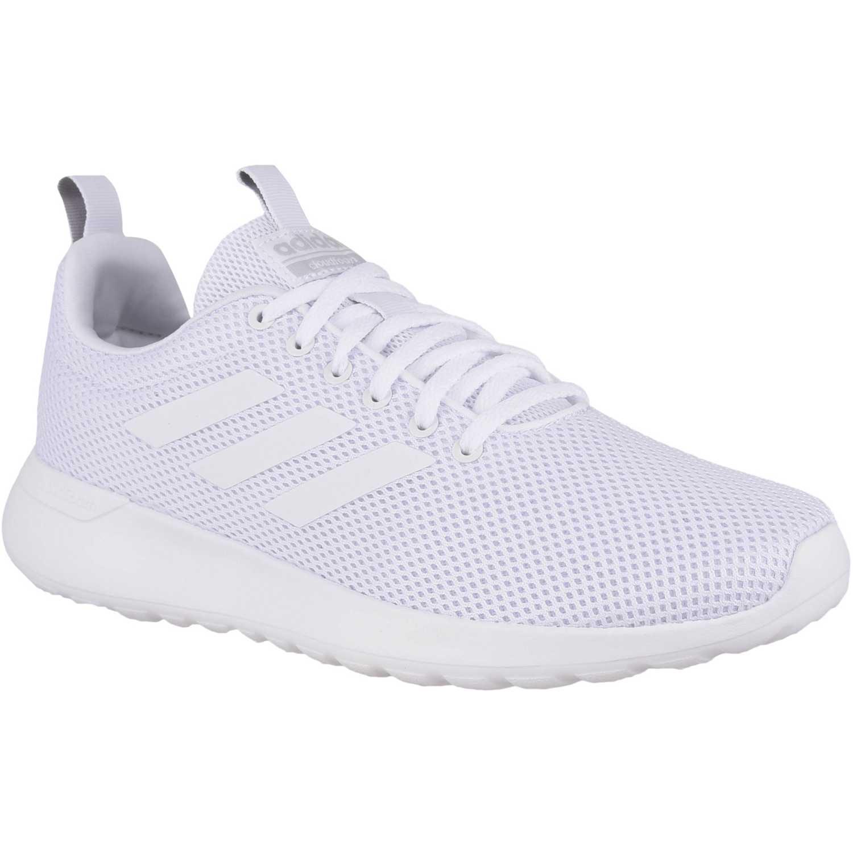 Adidas lite racer cln Blanco Running en pista
