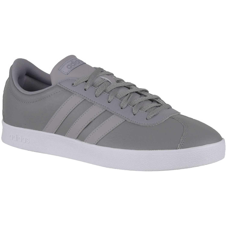 819b5a16b99 Zapatilla de Hombre Adidas Gris vl court 2.0   platanitos.com