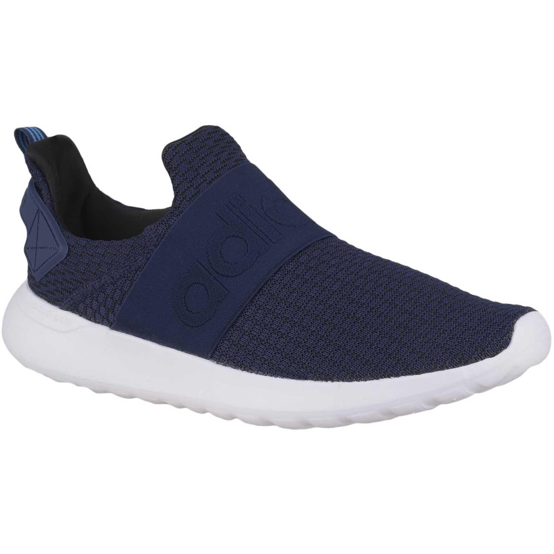 Adidas lite racer adapt Azul Running en pista