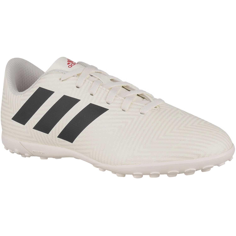 Deportivo de Jovencito Adidas Blanco / negro nemeziz 18.4 tf j
