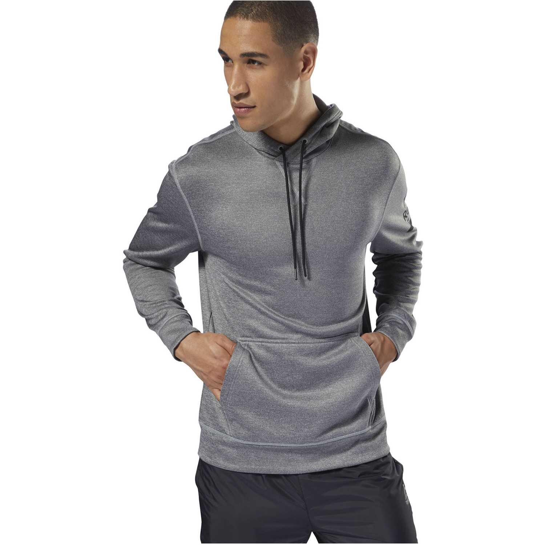 Reebok wor thermowarm hoodie Gris Hoodies y Sweaters Fashion