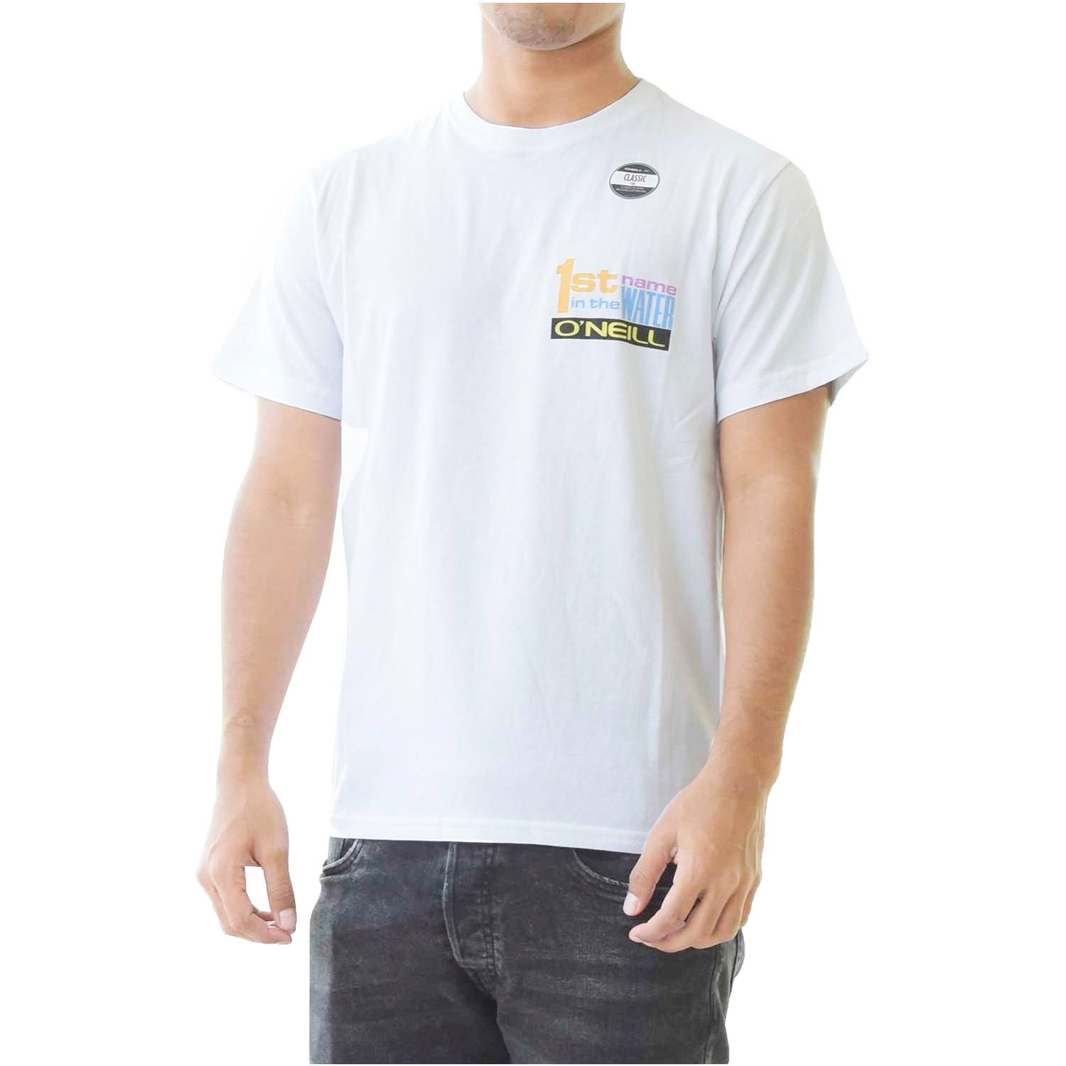 ONEILL lm 1st name t-shirt Blanco