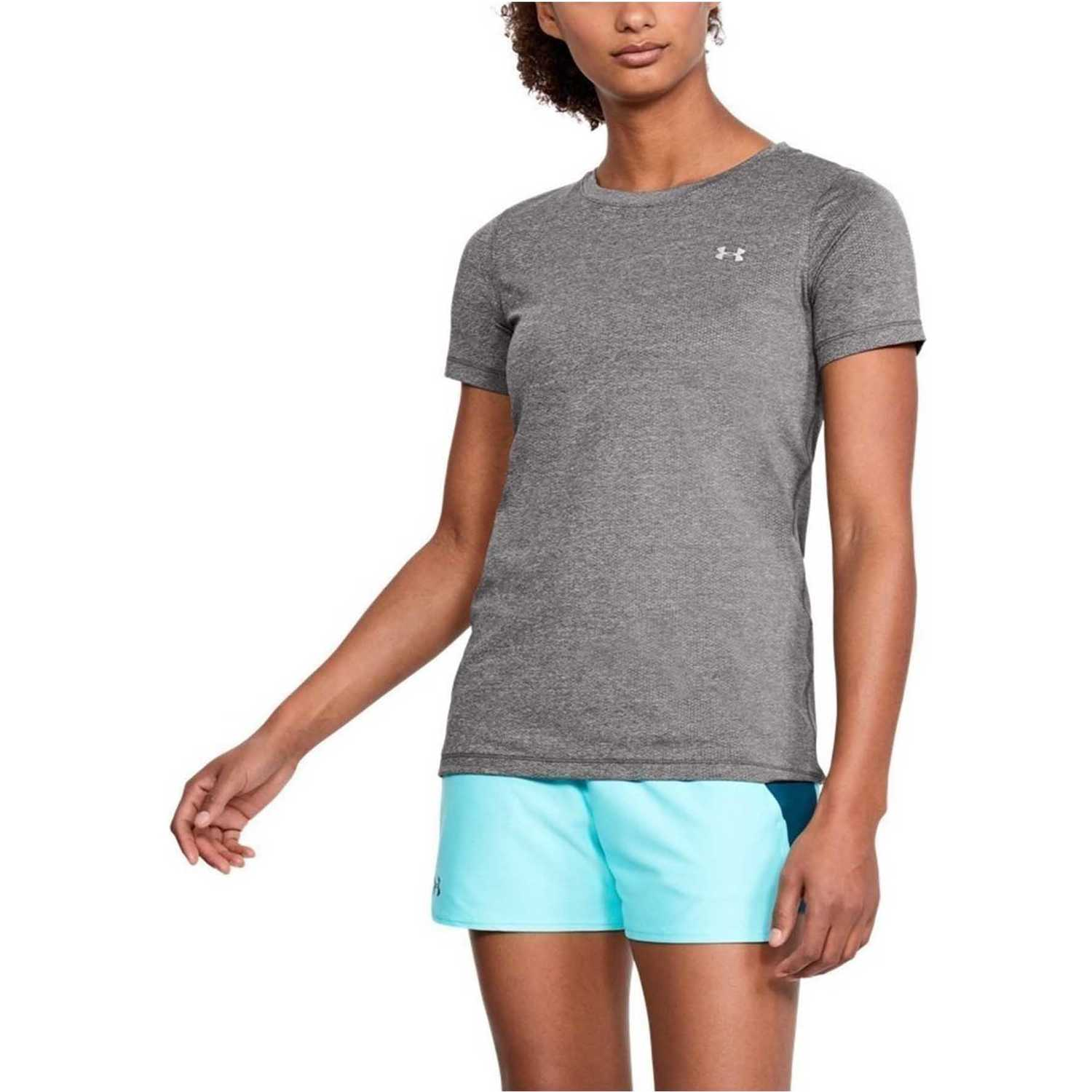 Polo de Mujer Under Armour Gris ua hg armour ss-gry