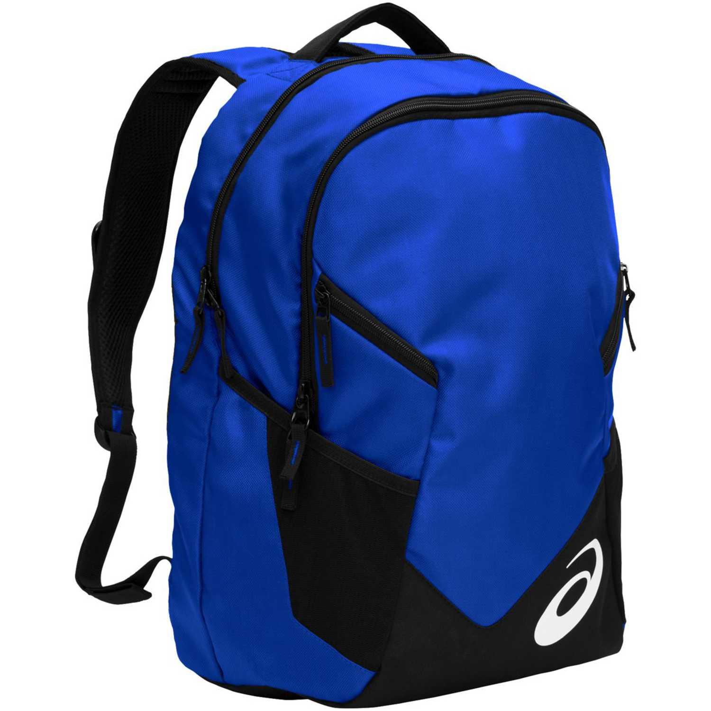 Asics Tm Edge Ii Backpack Celeste / negro Mochilas Multipropósitos