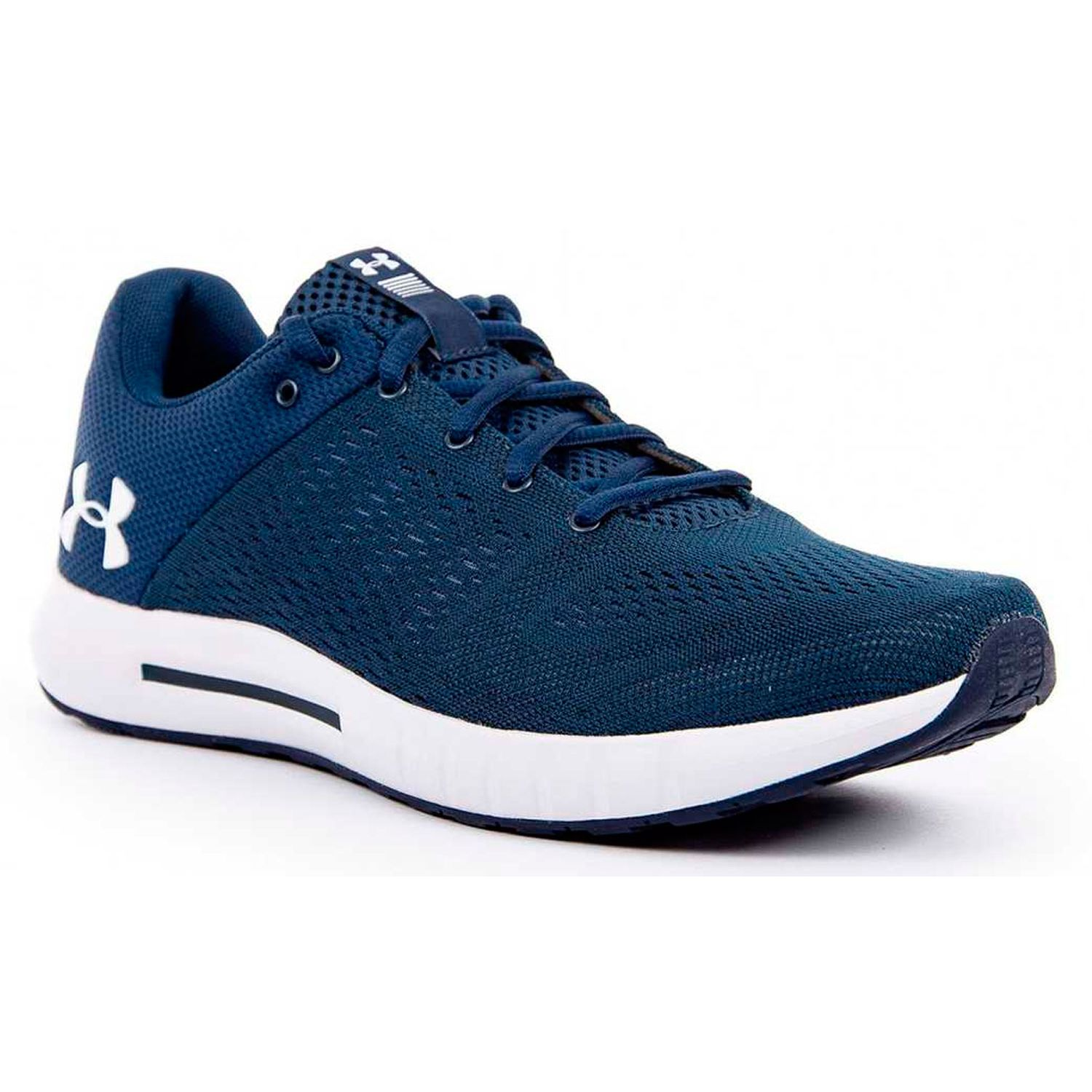 Under Armour ua micro g pursuit-nvy Azul / blanco Trail Running