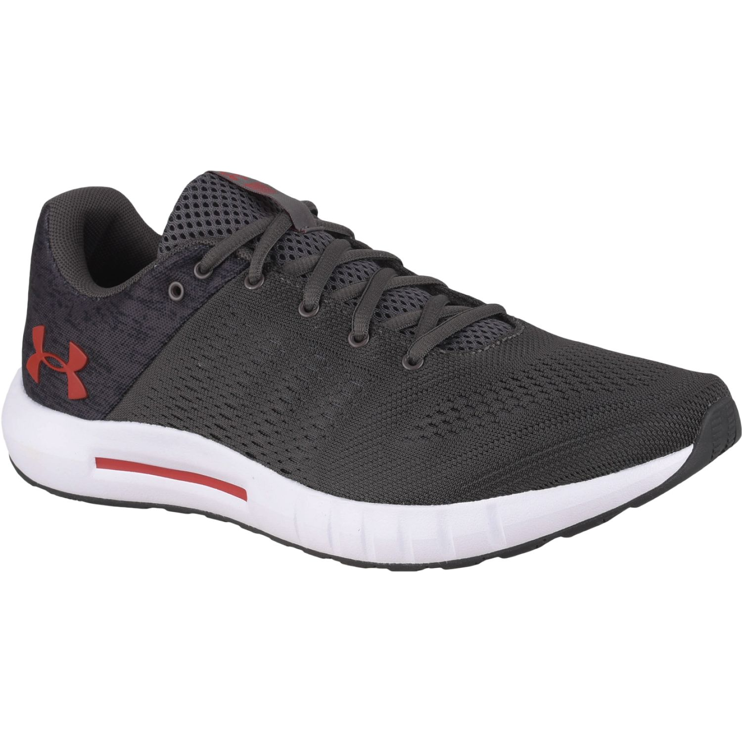 Under Armour ua micro g pursuit fiber opt-gry Negro / blanco Running en pista