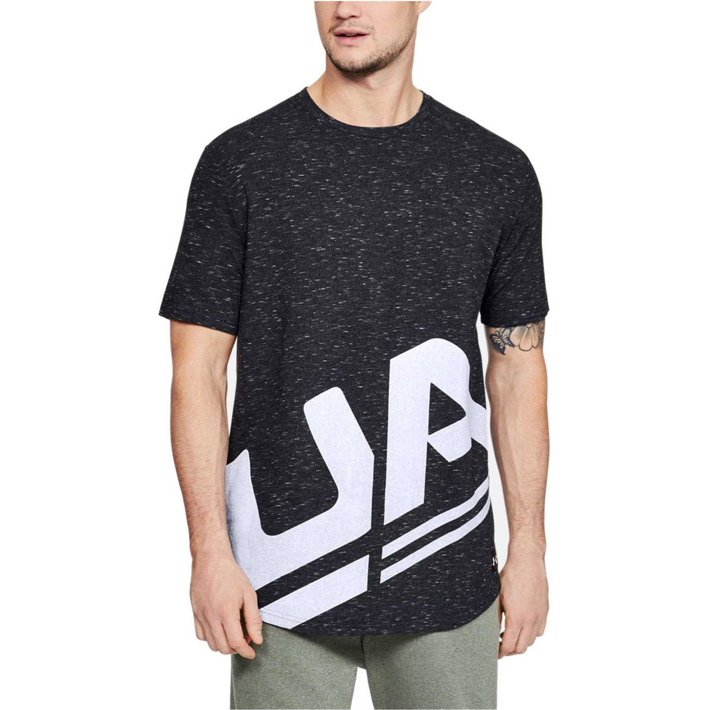 Under Armour ua sportstyle branded-blk Plomo Camisetas y Polos Deportivos