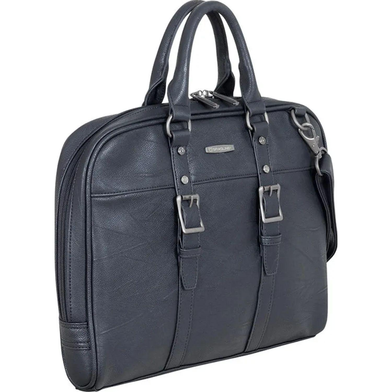 Saxoline portadocumento 626 black boston sx Negro maletines