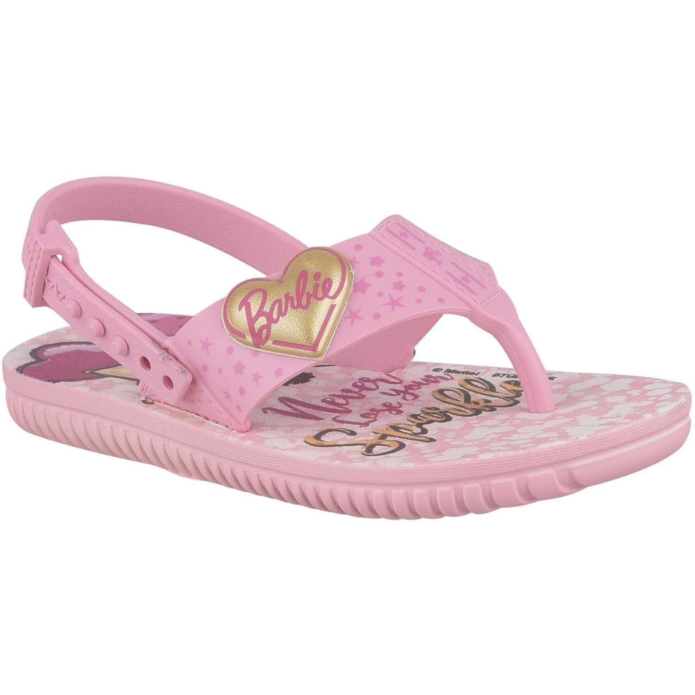Barbie mattel summer baby Rosado Sandalias
