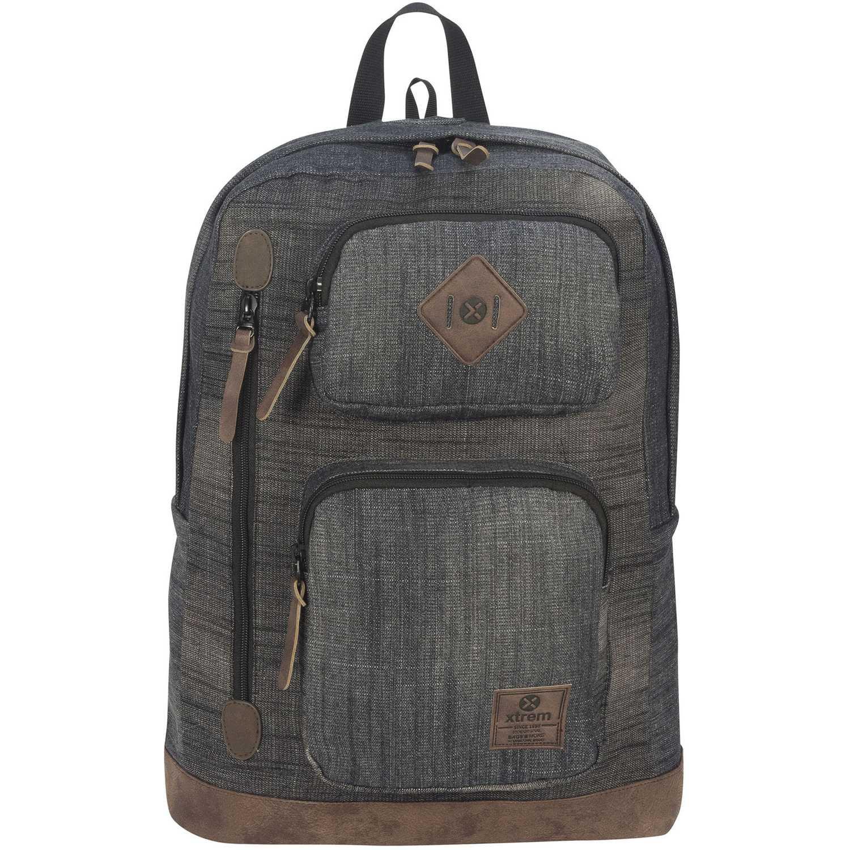 Xtrem backpack denim black wave 804 Plomo Mochilas Multipropósitos