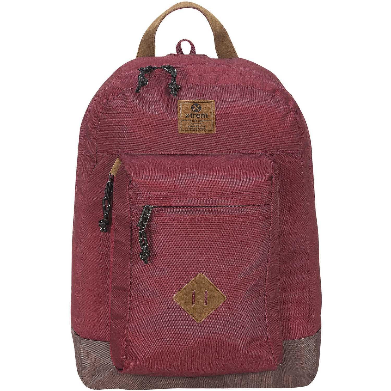 Mochila de Niño Xtrem Rojo backpack burgundy force 806