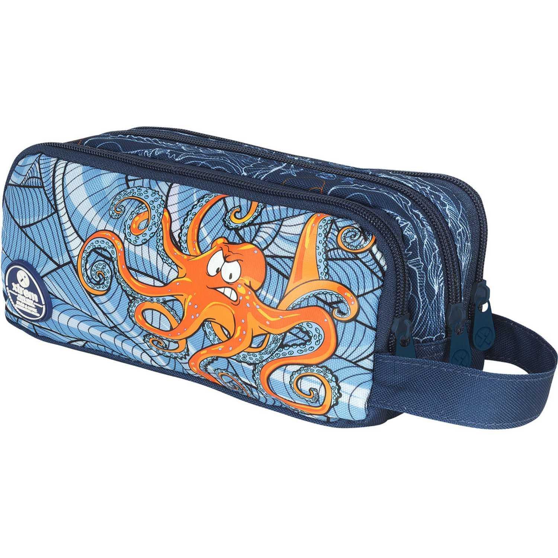 Xtrem pencil box under the sea university 840 Azul / naranja portalápices