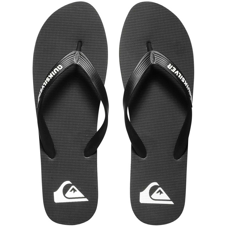 Quiksilver molokai Plomo/blanco Sandalias deportivas y slides