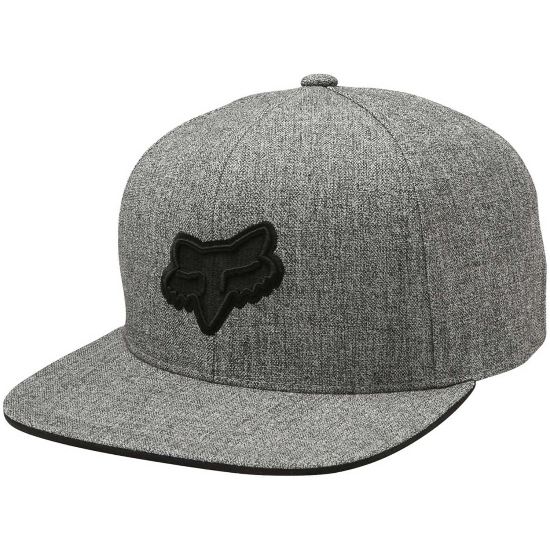 Fox legacy snapback hat Gris / negro Gorros de Baseball