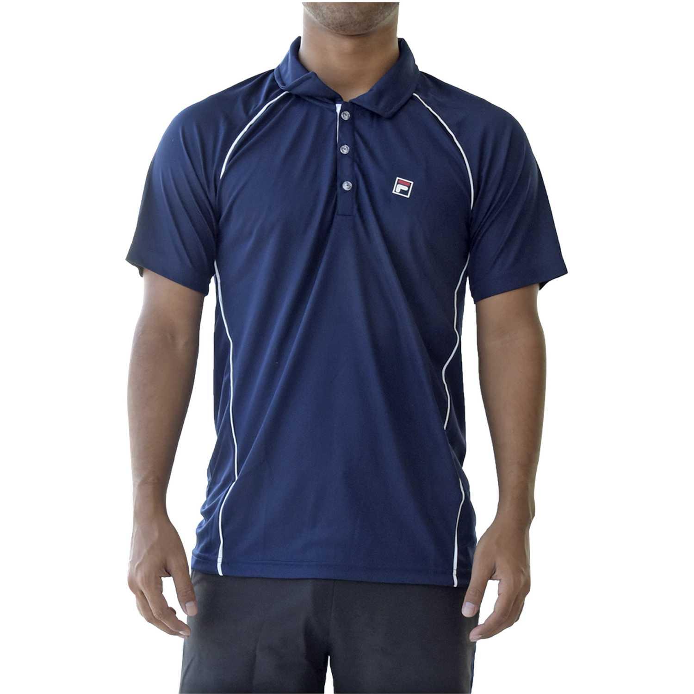 Fila Men Polo Shirt Cinci Navy Camisetas y polos deportivos