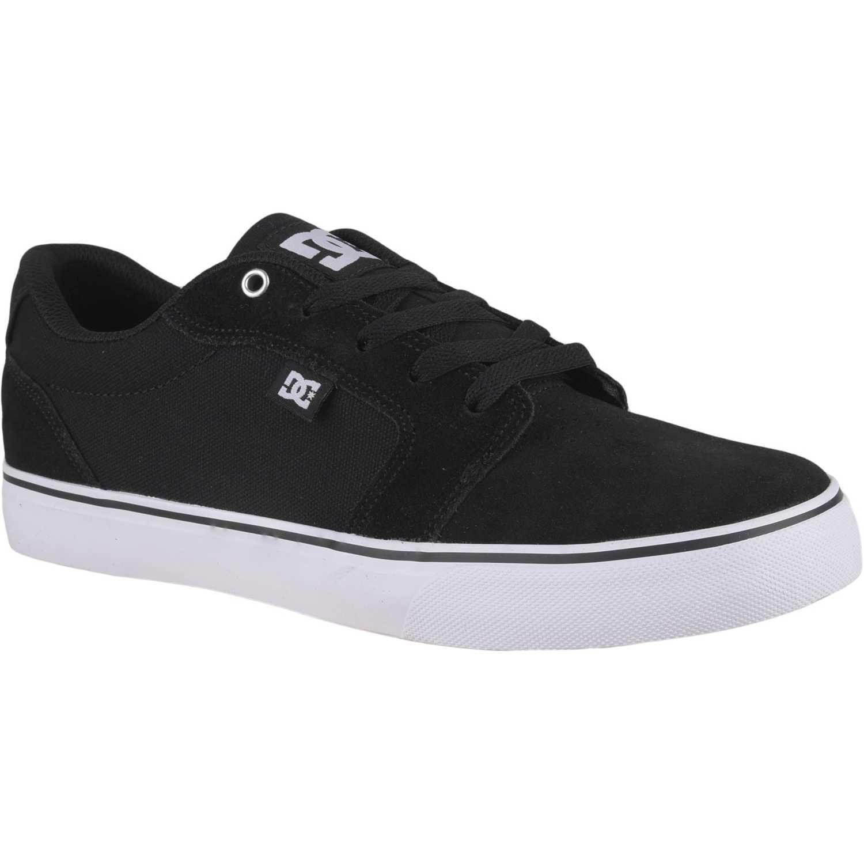 Zapatilla de Hombre DC Negro / blanco anvil m shoe bwb