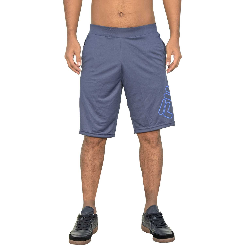 Fila men long shorts letter Navy Shorts Deportivos