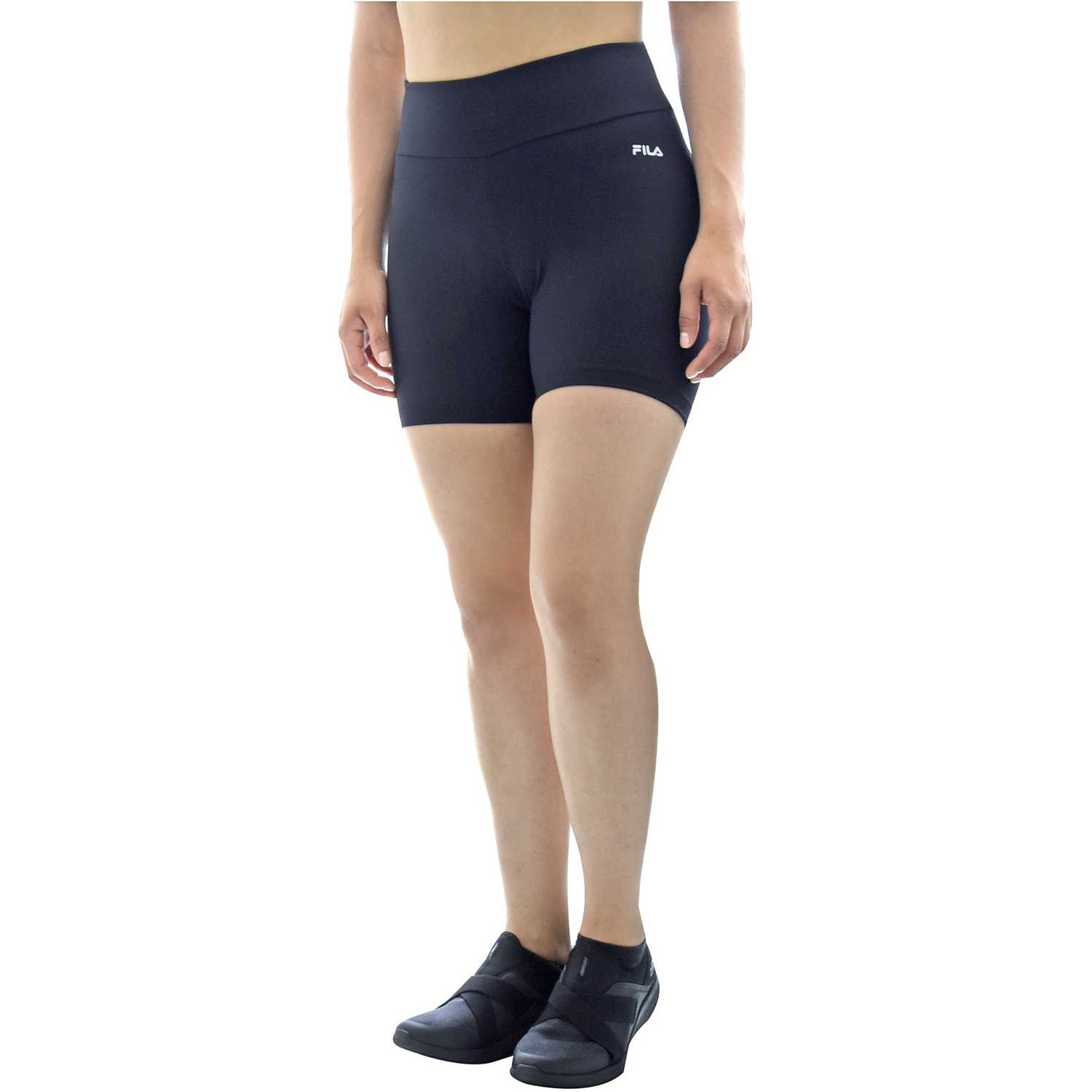 Short de Mujer Fila Negro women long shorts life