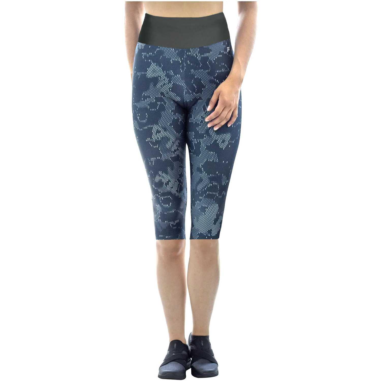 Short de Mujer Fila Plomo / gris women long shorts life long print