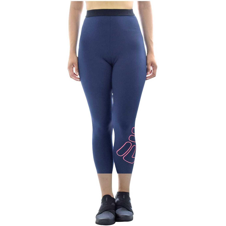 Capri de Mujer Fila Azul / fucsia women knee pants train