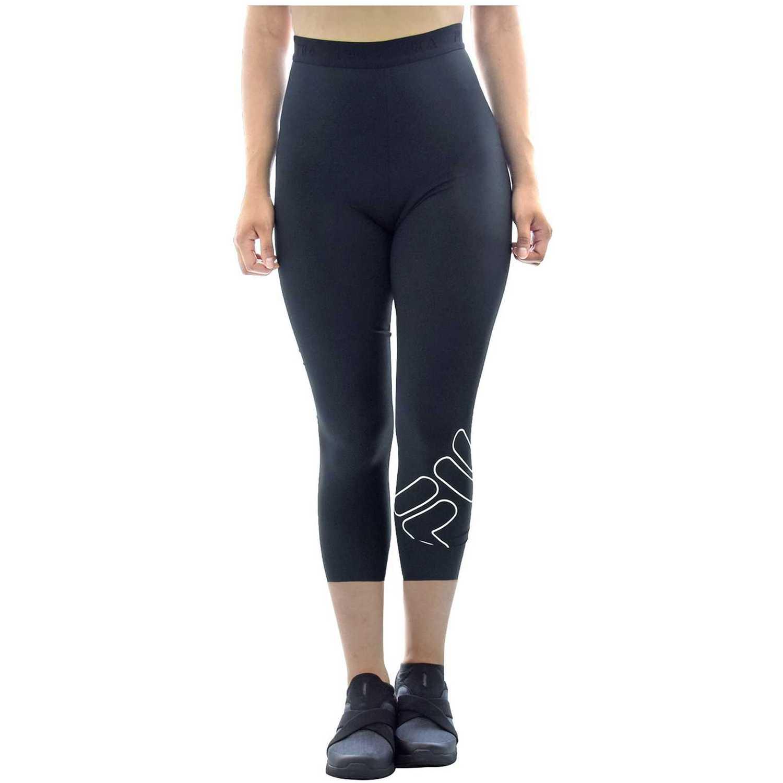 Capri de Mujer Fila Negro / blanco women knee pants train