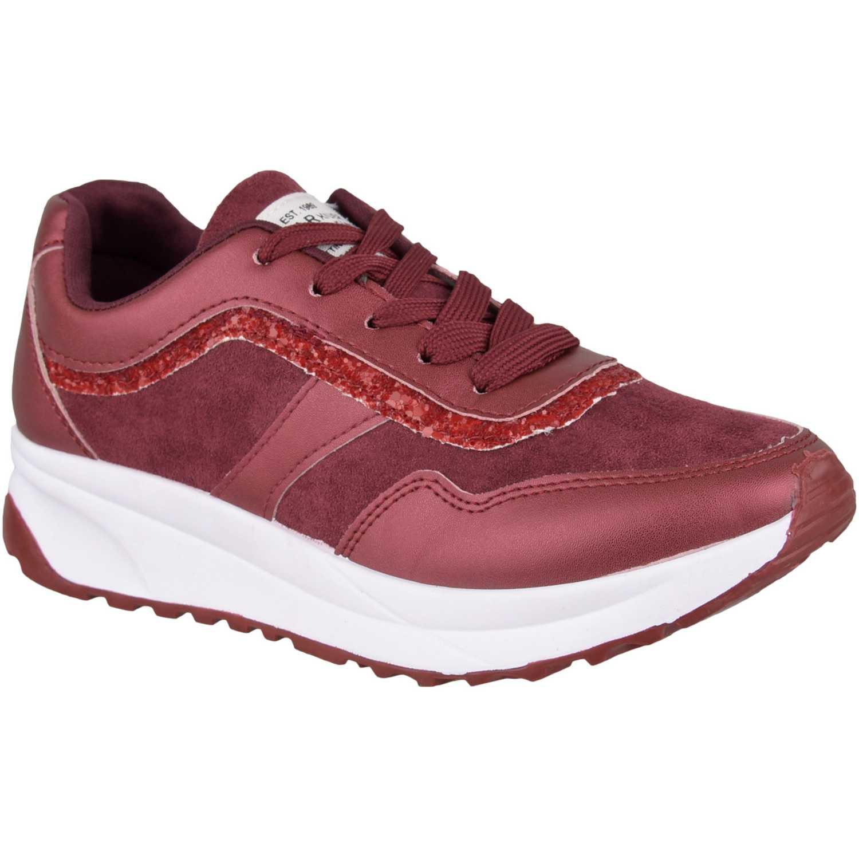 Zapatillas de Mujer Just4u Guinda z bo2