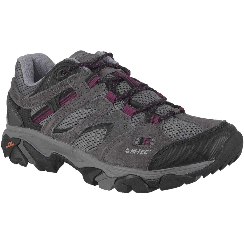 Hi-Tec ravus vent low womens Gris / morado Calzado hiking