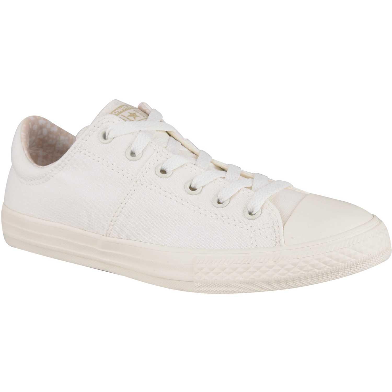 Zapatilla de Jovencita Converse Blanco ctas madison croc