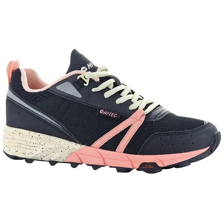 Hi-Tec ox-trail womens Plomo / rosado Calzado hiking