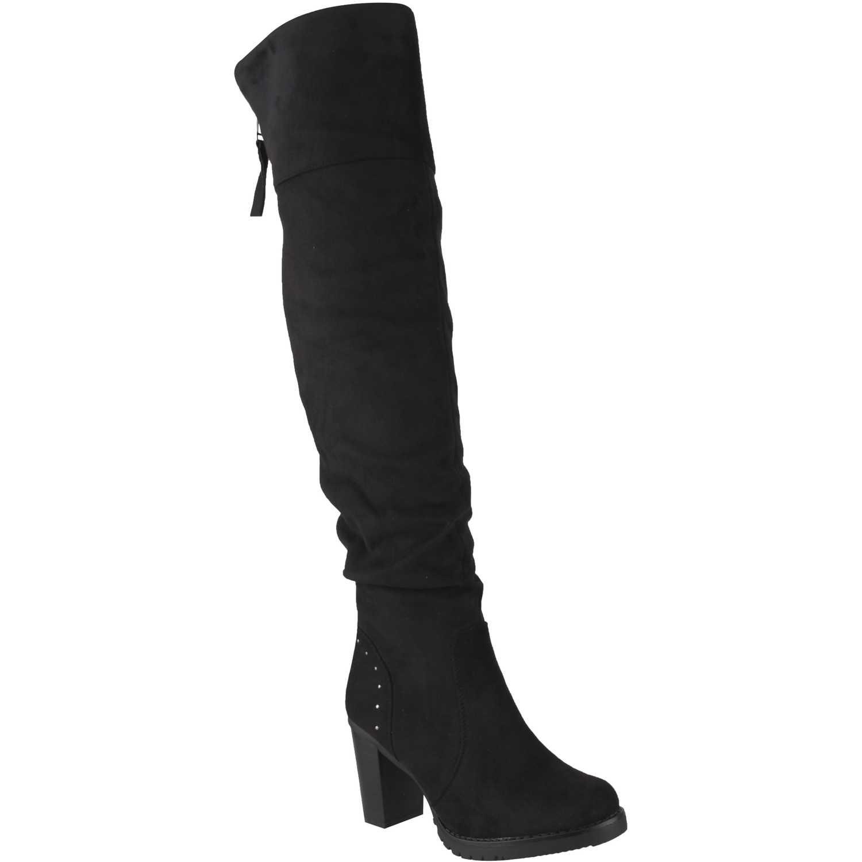 Botas de Mujer Platanitos Negro b 50237