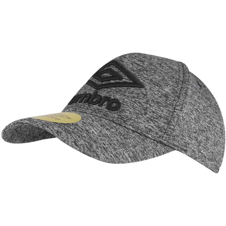 Gorro de Hombre Umbro Gris / negro baseball cap