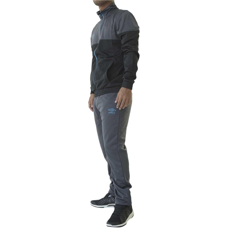 Buzo de Hombre Umbro Negro /gris core knit tracksuit