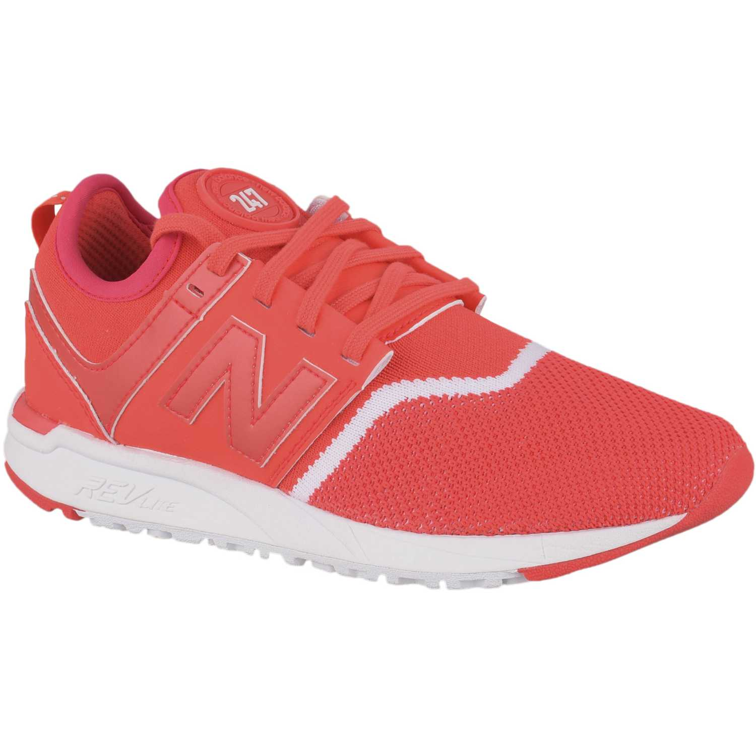 New Balance 247 Rojo / blanco Walking