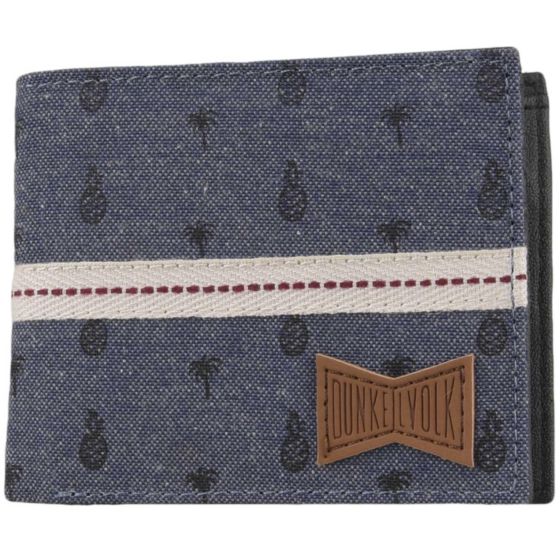 Billeteras de Hombre Dunkelvolk Azul palmar