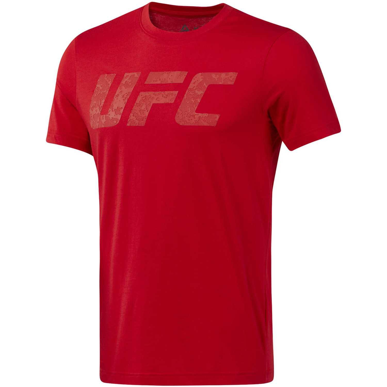 Polo de Hombre Reebok Rojo ufc fg logo tee